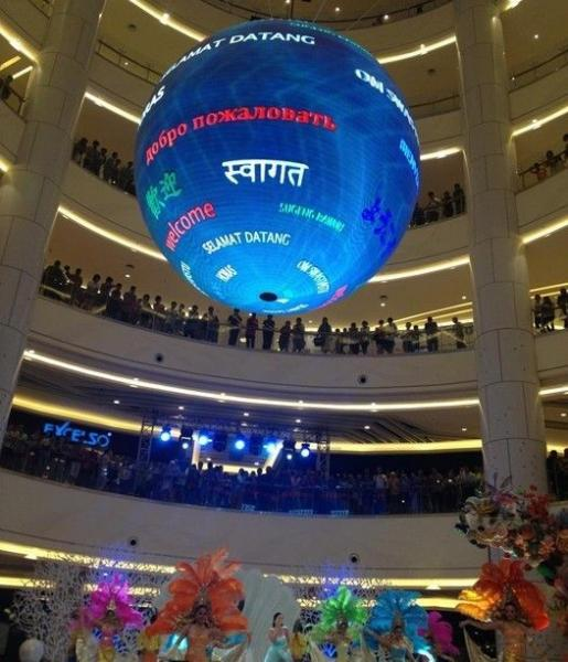 video ball sphere