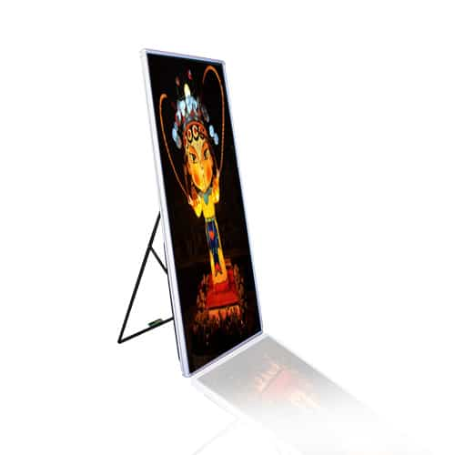 portable led screen poster