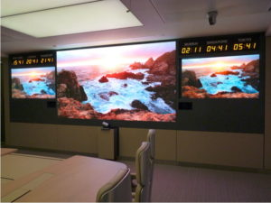 Unilight small pitch LED video panel