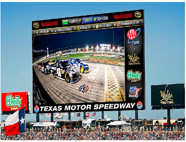 Texas Motor Speedway project