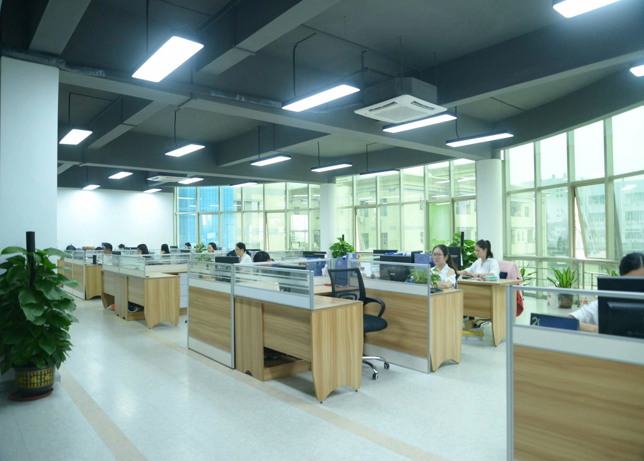 Unilight LED display office