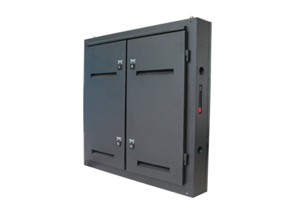 Unilight outdoor LED display screen cabinet rear