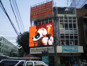 outdoor advertising LED billboard panel