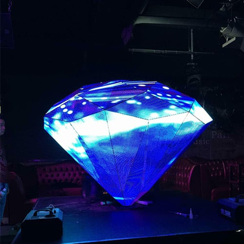 LED display-Diamonds shape