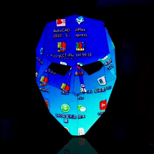 LED display-face shape