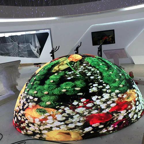 LED display-spherical crown shape