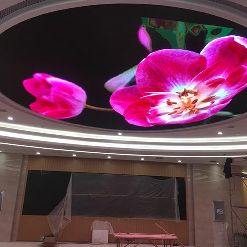 LED display-spherical crown shape