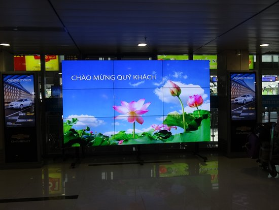 LED Display in Ho Chi Minh Airport