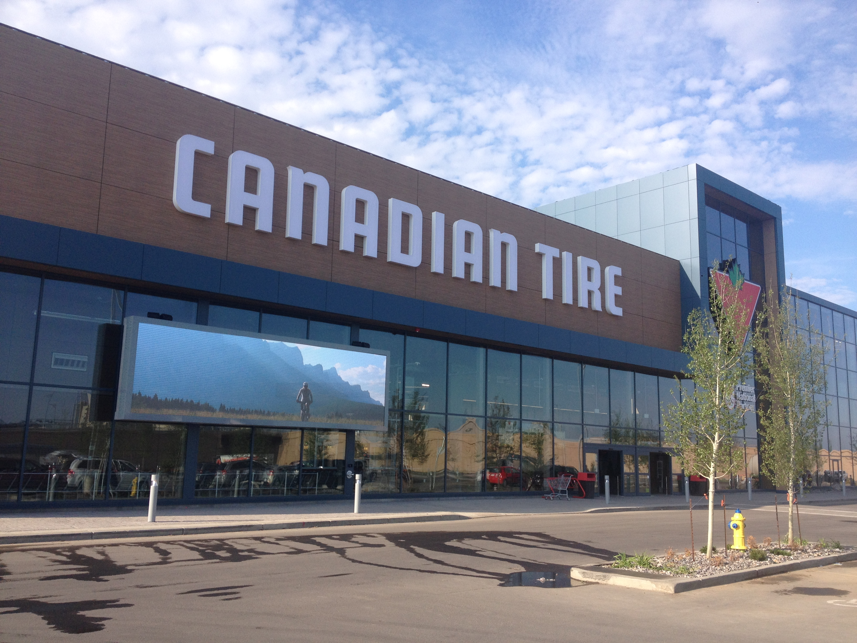 Canada Canadian Tire Center 2015