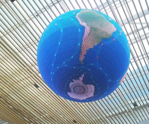 LED video ball sphere