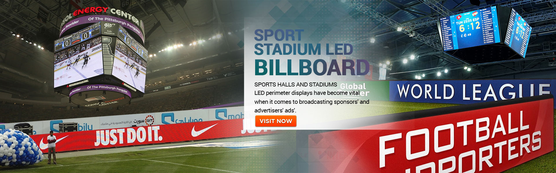 Unilight Sport stadium LED display