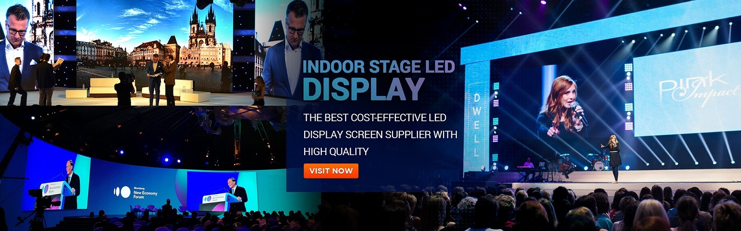 Unilight indoor stage LED display wall panels